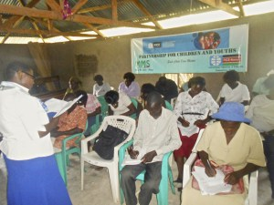 Training in psychosocial support and children rights