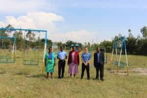 Besuch beim ersten Safe Park in Kenya, gefödert von der United Nations Women's Guild.