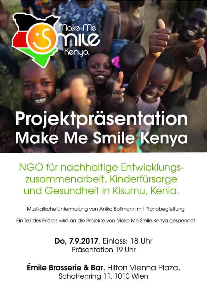 Poster MMS Kenya Projektpräsentation und Benefizveranstaltung